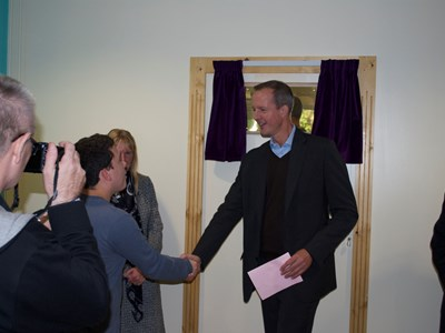 Learning Development Centre Opened by Nick Boles MP
