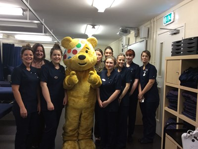 Staff & Students Raise Pounds for Pudsey