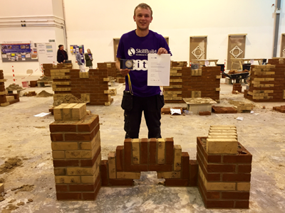 Bricklaying Apprentices performed well in the annual SkillBuild competition
