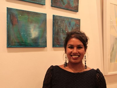Grantham College Art & Design Course Leader, Diana Ali, chosen to mentor potential artists in BBC's The Big Painting Challenge.