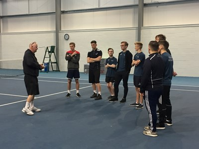 HE Sport students attend Grantham Tennis Club to complete a LTA Primary School and Inclusive Tennis Coaching Award
