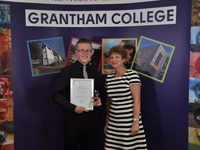 Staff and students celebrate their successes at annual awards ceremony