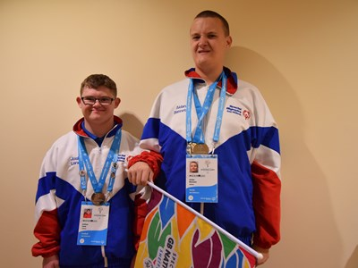 Grantham College Learning Development students win Gold and Silver Medals at the Special Olympics National Games
