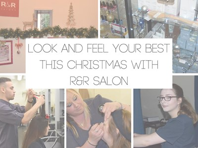 Let R&R salon help you look and feel your best this Christmas