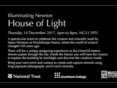 Grantham College students collaborate with National Trust for The House of Light