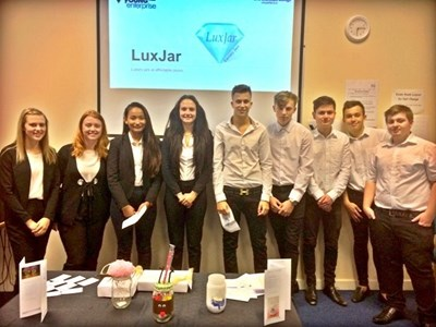 Grantham College Business students launch their own enterprise