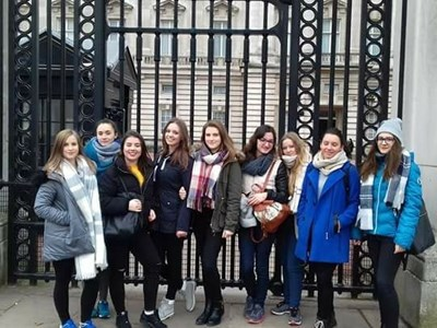 Grantham College host students from Poland as part of the Erasmus+ Scheme.