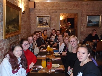 Health & Social Care students partake in an all-expenses paid trip to Sweden