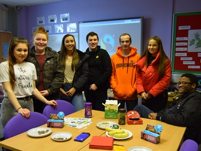Level 3 Travel & Tourism students host coffee morning to raise awareness on Fairtrade