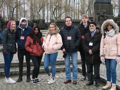 Students take part in all expenses paid trip to Auschwitz