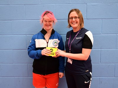 Sport England funded Activ8+ project awards student with £50 JD voucher!
