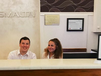 Travel & Tourism students partake in work experience in Malta