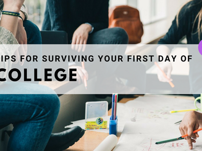 Survival Tips for your first day at College