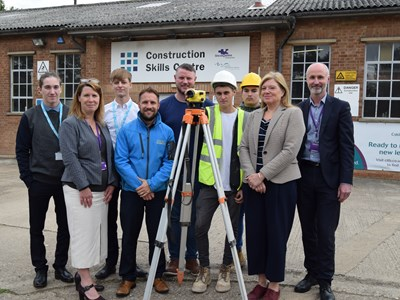 Woodhead Construction and Grantham College join forces to inspire future construction workers