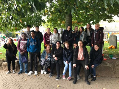 Grantham College heads to Alton Towers