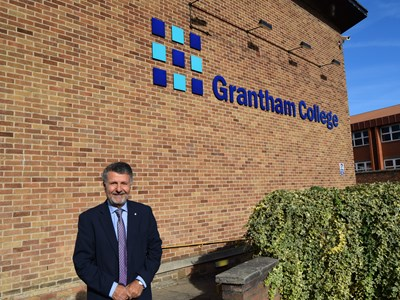 New Chair of Governors at Grantham College