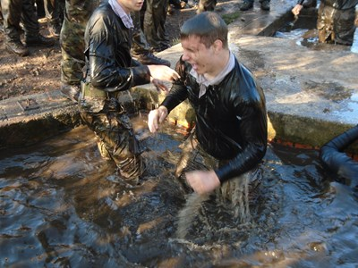 Royal Marines give Public Service Students a 'Look at Life'