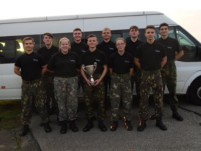 Public Services students take on RAF College Competition