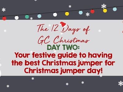 12 days of GC Christmas: Day Two - A handy guide to the ultimate Christmas Jumper!