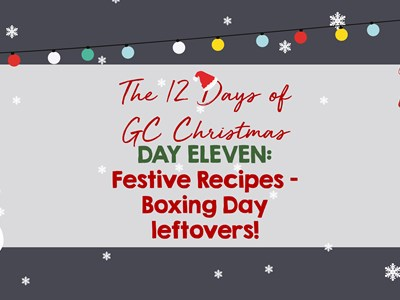 12 days of GC Christmas: Day Eleven - Festive Recipes