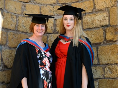 Mother & Daughter graduate as a duo