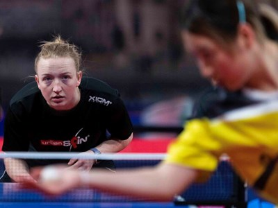 Former Table Tennis Academy player Emily to represent England