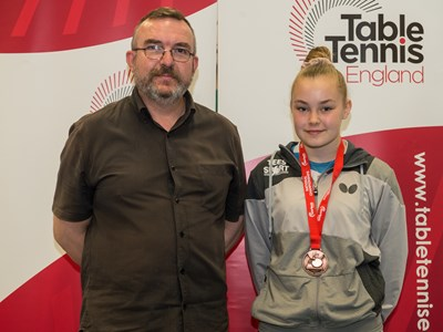 Trio place well in table tennis National Cup