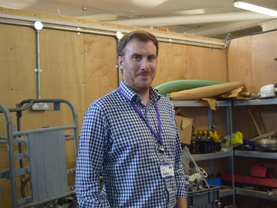New Engineering lecturer first to graduate through forces scheme