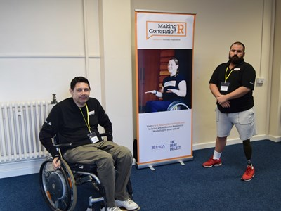 Veterans told their inspirational tales as part of resilience-building workshops