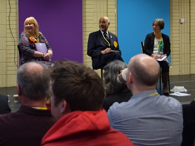 Election candidates take part in educational hustings