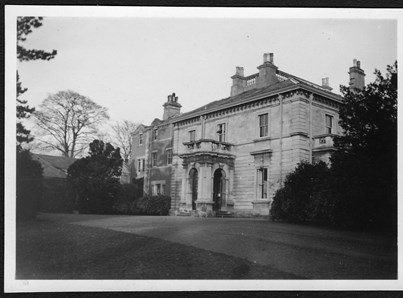 How Stonebridge House looked in the 50s